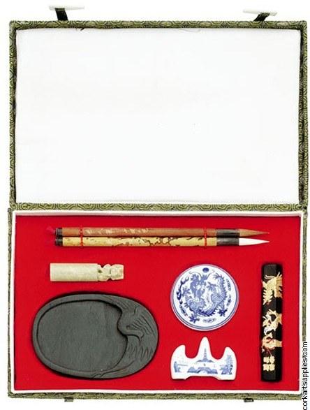 China Painting Set 3 7pk