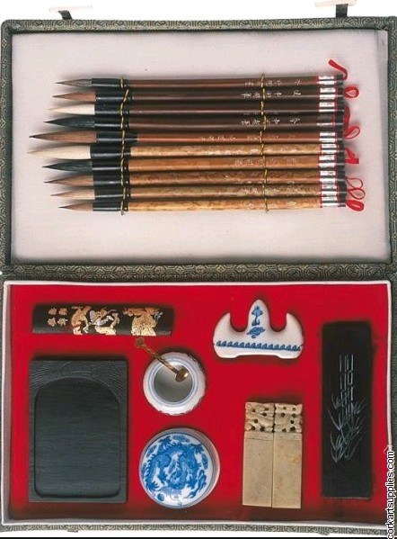 China Painting Set 6 19pk