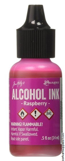 Alcohol Ink 14ml Raspberry