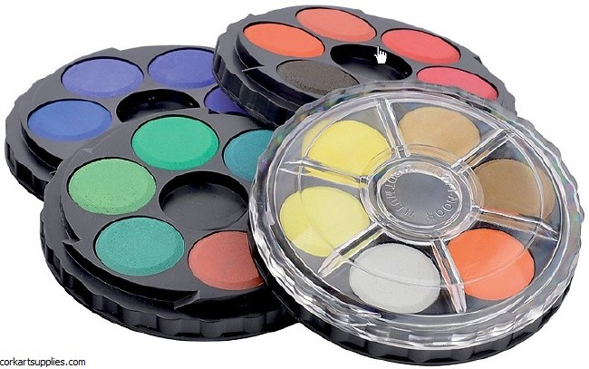 Watercolour Wheel Set 24pk