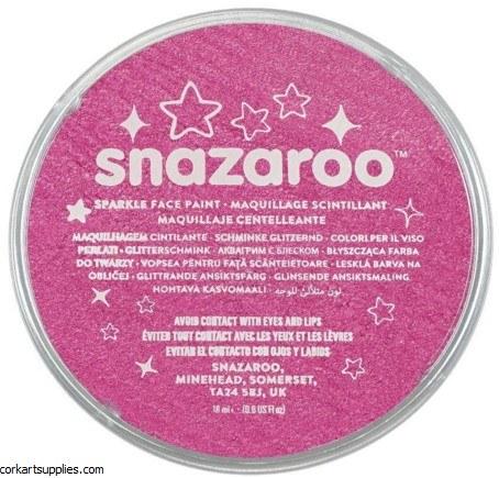 Snazaroo 18ml Sparkle Pink