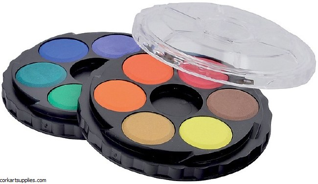 Watercolour Wheel Set 12pk
