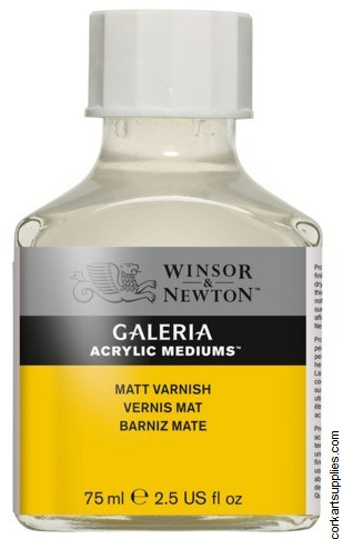 Galeria Acrylic Matt Varnish 75ml