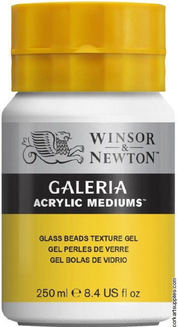 Galeria 250ml Glass Beads Texture Gel