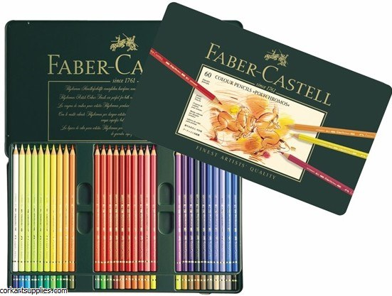 Polychromos Coloured Pencil 60 Pack
