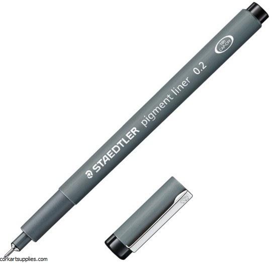 Pigment Liner 0.2mm Black