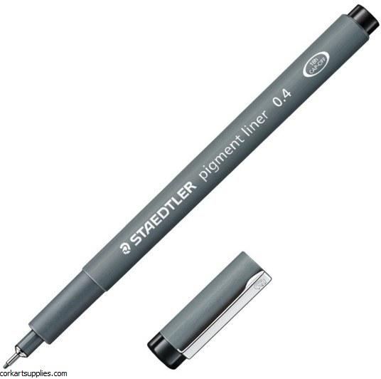 Pigment Liner 0.4mm Black