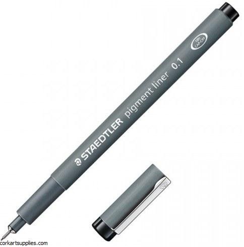 Pigment Liner 0.1mm Black
