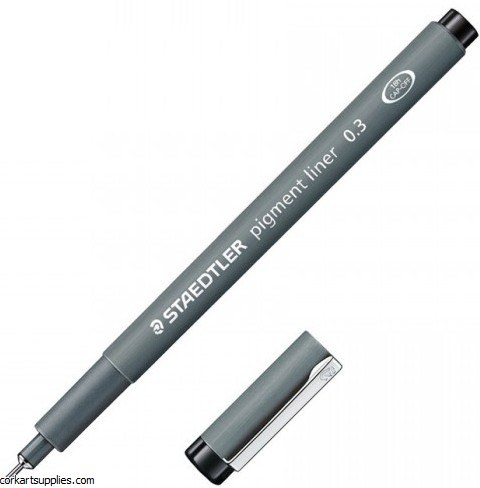 Pigment Liner 0.3mm Black