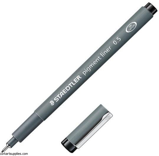 Pigment Liner 0.5mm Black