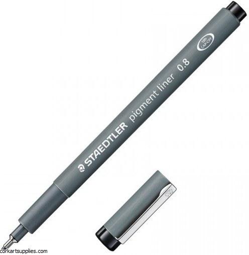 Pigment Liner 0.8mm Black