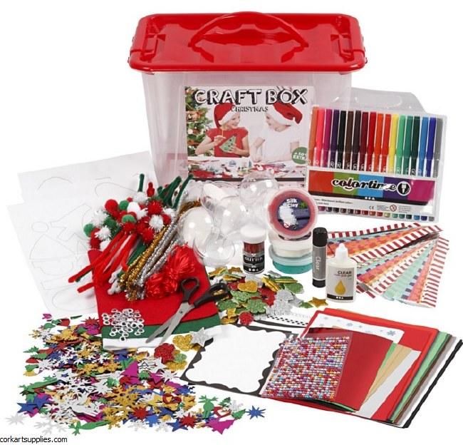 Craft Box Set Xmas 34x34x20cm