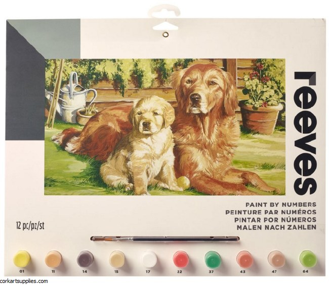Paint By Numbers Dog World