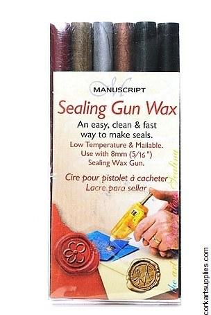 Sealing Wax Gun Stix Asst 6pk
