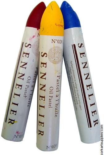 Sennelier Oil Pastel 38ml Ash Blue