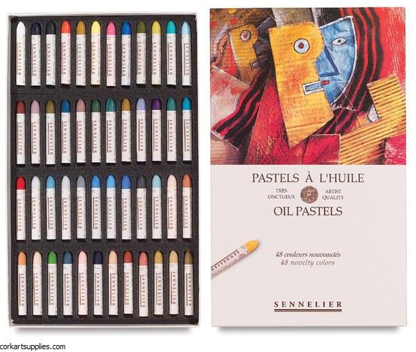 Sennelier Oil Pastel 48 Pack Assorted