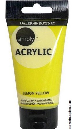 Simply Acrylic 75ml Lemon