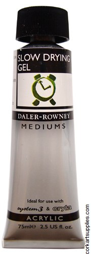 Daler Rowney 75ml Slow Drying Gel