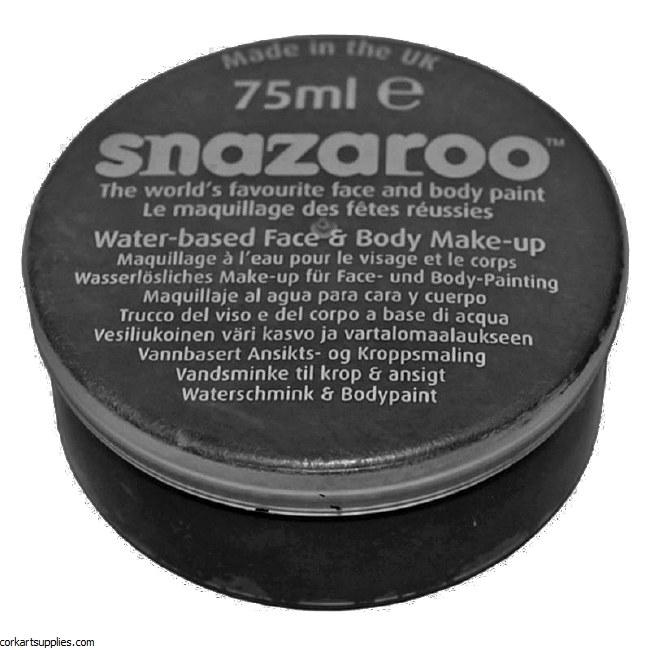 Snazaroo 75ml Black Pot