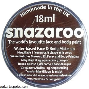 Snazaroo 18ml Dk Brown^