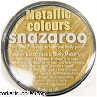 Snazaroo 18ml Metallic Gold