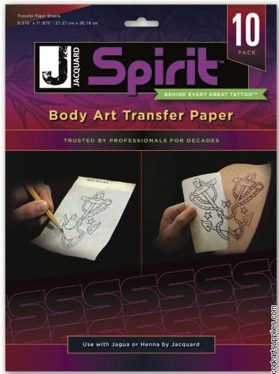 Jacquard Spirit Paper 10pk
