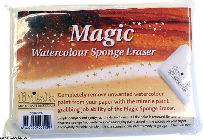 Watercolour Sponge Eraser 4pk