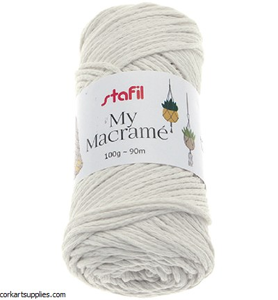Macrame Cord 4mm 90M Cream