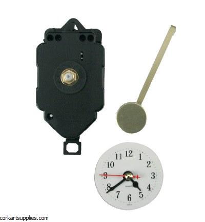 Stafil Pendulum Clockwork + Clock Hands