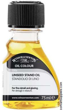 Winsor & Newton 75ml Linseed Oil Stand