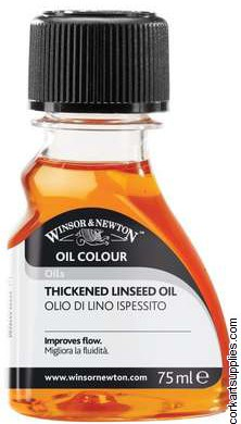 Winsor & Newton 75ml Linseed Oil Thickened