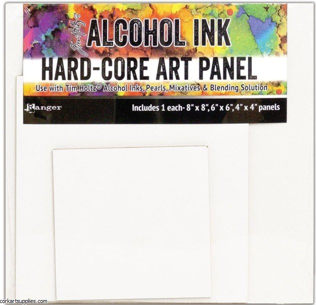 Alcohol Ink Art Panel Asst 3pk