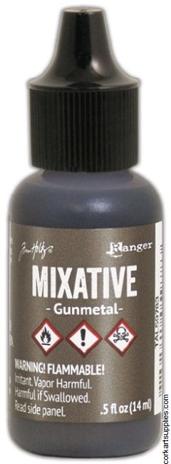 Alcohol Ink 14ml Metallic Gunmetal