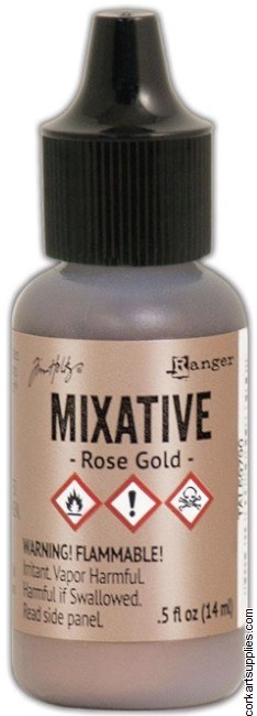 Alcohol Ink 14ml Metallic Rose Gold