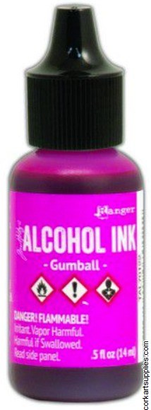 Alcohol Ink 14ml Gumball Pink