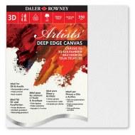 """Canvas 3D Daler Rowney 30x30cm / Approx 12x12"""""""