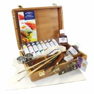 Winsor & Newton Artist's Oil Colour Bamboo Box Set