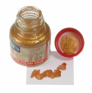 Calligraphy Ink 30ml Gold (Metallic)