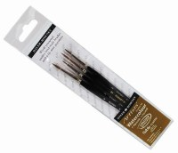 Sable Brush D/R Wallet 4pk