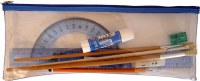 """Pencil Case Clear PVC 12"""""""