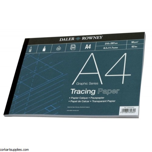 Tracing Pad A3 90gm Daler Rowney