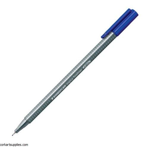 Staedtler Triplus Fineliner Marker 0.3mm Blue
