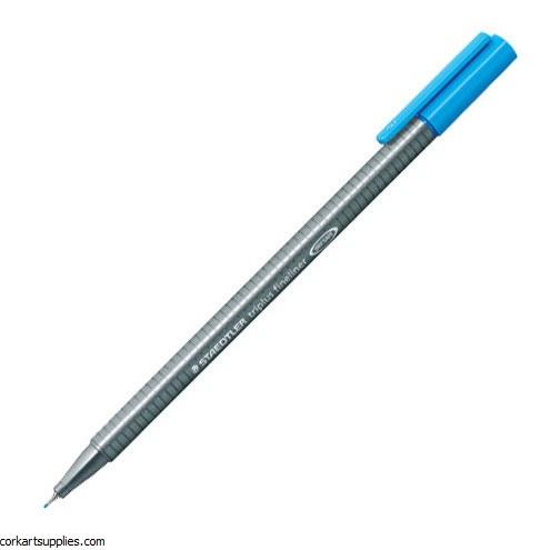 Staedtler Triplus Fineliner Marker 0.3mm Lt Blue