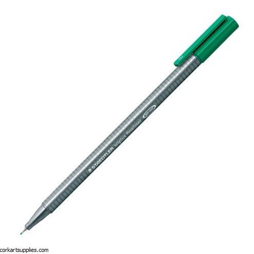 Staedtler Triplus Fineliner Marker 0.3mm Green