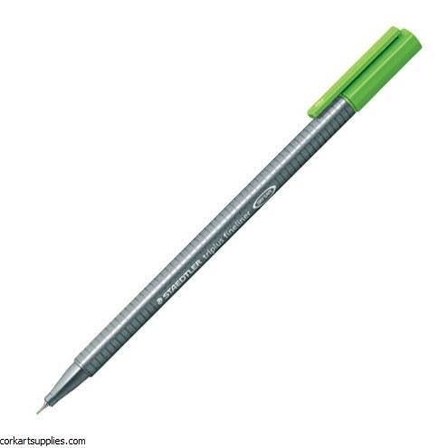 Staedtler Triplus Fineliner Marker 0.3mm Lt Green