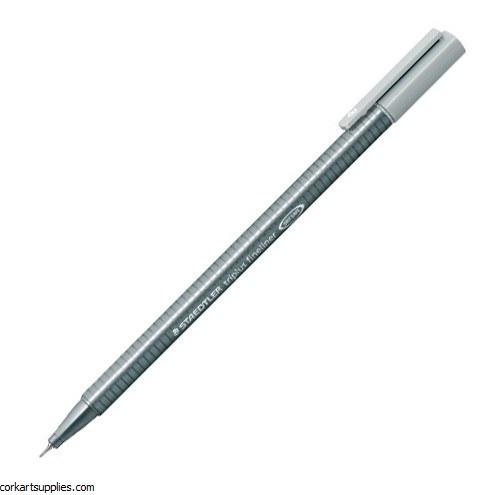 Staedtler Triplus Fineliner Marker 0.3mm Lt Grey