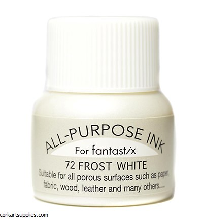 Ink 15ml All Purpose 72 Metallic White