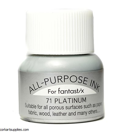 Ink 15ml All Purpose 71 Metallic Silver Platinum