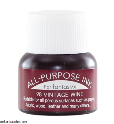 Tsukineko All Purpose Ink - Vintage Wine