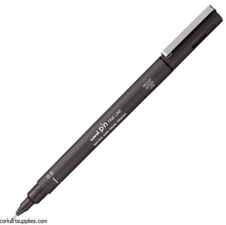 Uni Liner 0.5mm Dark Grey